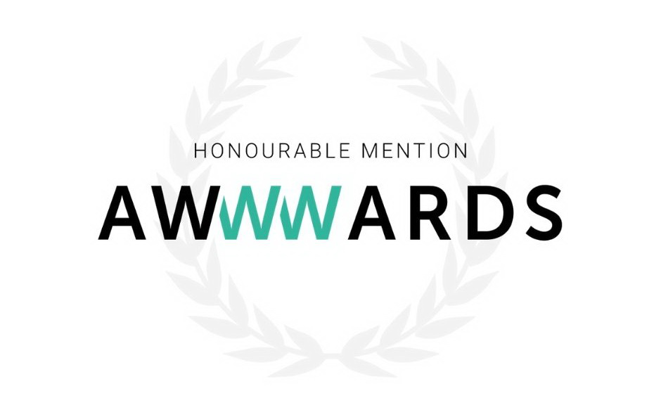 «Honorable Mentions» от Awwwards